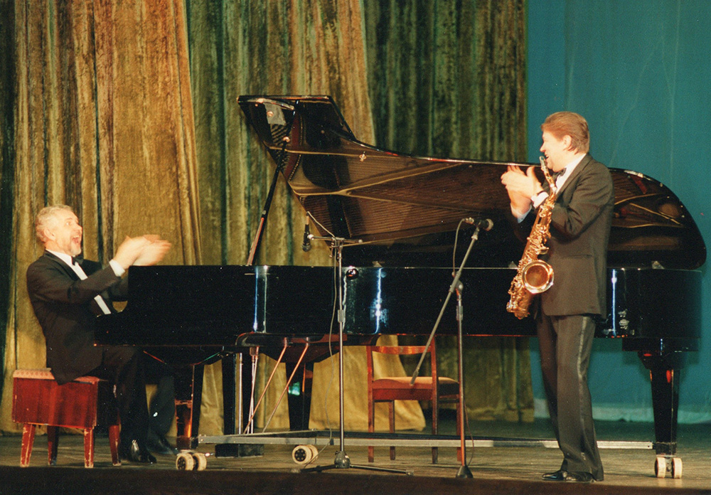 Lembit Saarsalu ja Leonid Vintskevich / 1990ndad